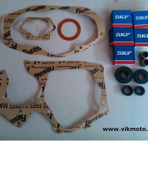 Minarelli P6 kit revisione guarnizioni cuscinetti paraoli astucci a rulli