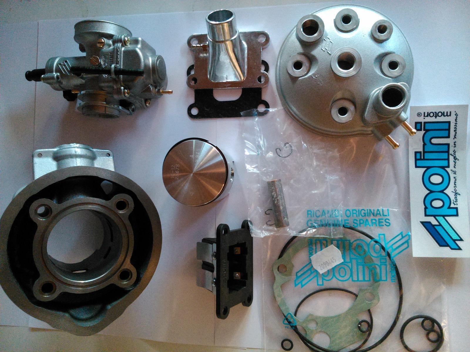 minarelli am6 cilindro 75cc polini carburatore 21 collettore pacco lamellare. Black Bedroom Furniture Sets. Home Design Ideas
